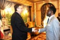 US Ambassador to Equatorial Guinea meets with President Obiang ahead of elections.